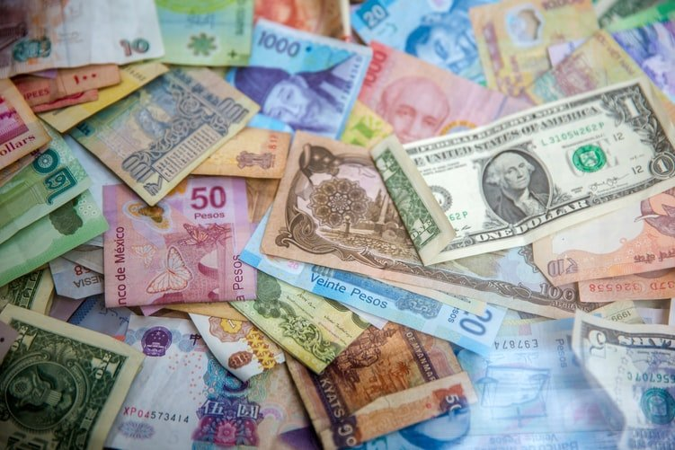 numerous foreign currencies, including the Swiss franc and Japanese yen